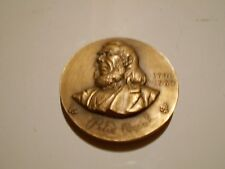 Peter Cooper  Hall of Fame For Great Americans NYU medal Medallic Art Co