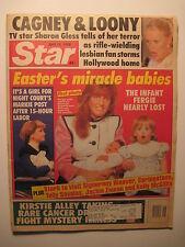 Star Magazine 4-17-1990. Sarah Ferguson! Markie Post! Debbie Gibson! Madonna!