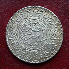 Morocco AH1320 silver 10 dirhams