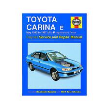 [3256] Toyota Carina E 1.6 1.8 2.0 Petrol 1992-97 (J to P Reg) Haynes Manual