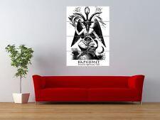 BAPHOMET KNIGHTS TEMPLAR ICON ANGEL GIANT ART PRINT PANEL POSTER NOR0601