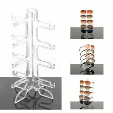 Fashion Acrylic 5/4 Pairs Sunglasses Glasses Show Rack Display Stand Holder OA