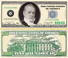 "JAMES BUCHANAN - BILLET ""100 DOLLAR US"" -  Collection President Million Histoire"