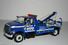 First Gear NYPD Ford F-650 Recovery Tow 18-3040