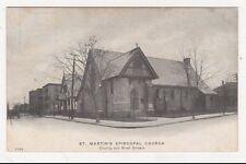 USA, St. Martin's Episcopal Church New Bedford, Mass. Postcard, US004