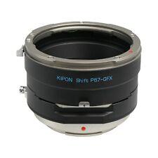 Kipon Shift Adapter for Pentax 67 Mount Lens to Fuji GFX Medium Format Camera