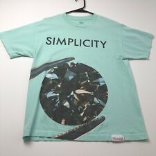 Diamond Supply Adult Short Sleeve Graphic T Shirt Medium M Simplicity Crewneck