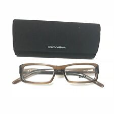 New 100% Authentic DOLCE & GABBANA  Eyeglasses Frames D&G11144 758 Brown /Clear