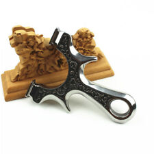 Slingshot Powerful Catapult for Hunting Stainless steel Rubber Band Shooting