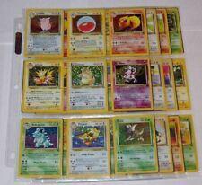 Lots de cartes Pokémon Jungle