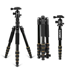 ZOMEI Pro Tripod &Ball Head Compact Travel for DSLR Camera Portable Q666S
