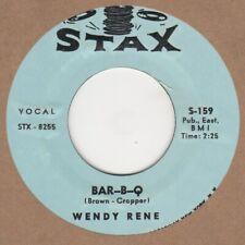 Wendy Rene Bar B Q  Stax S-159 2nd Soul Northern motown