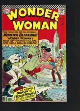 WONDER WOMAN #162/  BLIZZARD DIANA PRINCE 1966  DC COMICS VG SHAPE .99 AUCTION