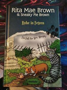 Ruhe in Fetzen v. Rita Mae Brown, Mrs. Murphys 2. Fall Hardcover
