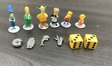 The Simpsons Clue Game Replacement Pieces Tokens, Weapons, & Dice