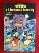 Walt DISNEY - PAPERINO E FANTASMA DI GOLDEN CITY Mondadori (1° Ed 1977) POP UP