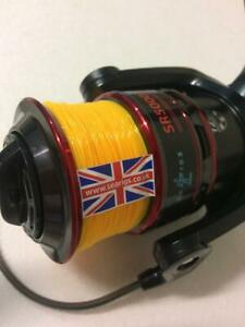 Saltwater Long Cast Sea Fishing Reel - Fixed Spool -  Loaded with ASS0 20lb line