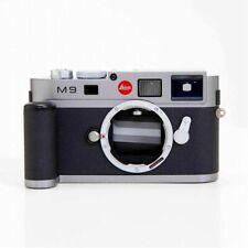 Leica M9 18.0MP Rangefinder Digital Camera Steel Gray Body Excellent Japan F/S