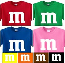 m&m  shirt CANDY t shirt USA HALLOWEEN