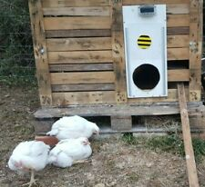 Putkovar automatic chicken solar coop door - NO doors, NO battery