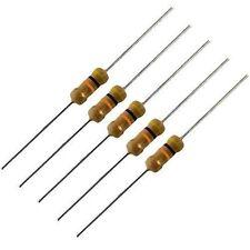 radioshack 100-kohm 1/4 Watt Carbon-Film Resistors, 2711347