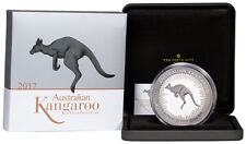 2017-P Australia 1 Kilo Silver Kangaroo - Proof $30 Coin In OGP SKU48294