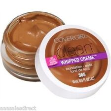 COVERGIRL CLEAN WHIPPED CRÈME FOUNDATION #365 TAWNY SAVE Huge when you buy 4+
