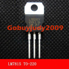 5 x L7815CV LM7815 L7815 Voltage Regulator IC +15V  Free shipping with tracking#