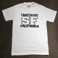 Lights Out T Shirt Hardcore SXE Desperate Measures Youngblood Carry On Bold
