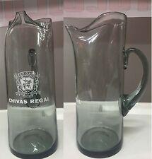 Caraffa in vetro Chivas Regal 12 Old Scotch Whisky Brocca Water Jug