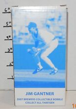 2007 Jim Ganter Sentry SGA Bobblehead MLB Milwaukee Brewers