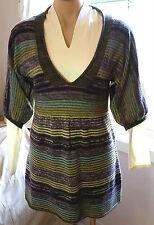 Sportsgirl Stripes Short Sleeve Dresses for Women