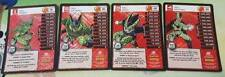 Dragon Ball Z TCG Perfection Dragon Rare Booster Pack Foil Cell Set Level 1-4