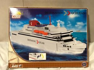COBI Legosteine kompatibel Fähre Ferry Destination Gotland, NEU, OVP