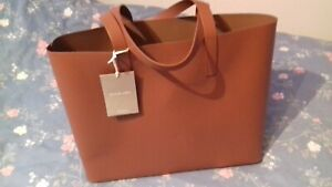 BNWT EVERLANE DAY MARKET TOTE IN COGNAC LEATHER