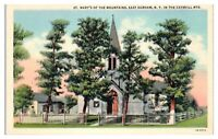Mid-1900s St. Mary's of the Mountains, East Durham, NY Postcard