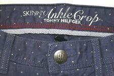 Blue Current /& Elliott The Stiletto Crop Skinny Jean w//Flocked Dots 24