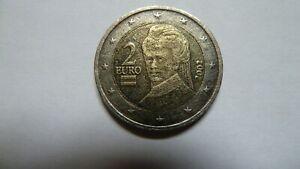 2 Euros Autriche 2002 fautée très rare