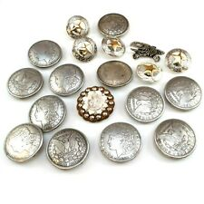 Lot of Western Style Conchos - Not Sterling