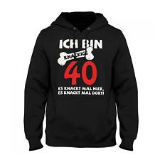 Knackige 40 Herren Kapuzenpullover Männer Hoodie Spruch Geburtstag Geschenk Idee