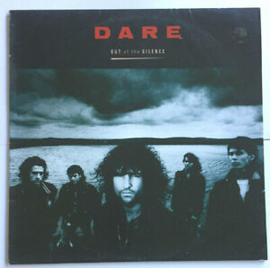 """DARE - LP - """"OUT OF THE SILENCE"""" - 1988 - 10 TRACKS - A&M AUSTRALIA"""
