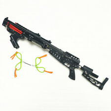 Semiautomatic 40BB Slingshot Rifle Drawing Force Rubber Bands Version12 -Newest