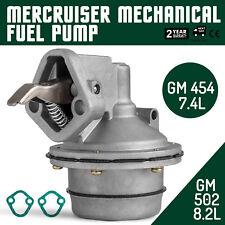 MECHANICAL MERCRUISER FUEL PUMP MarkV MERCRUISER 818383T 861677T 7.4  8.2