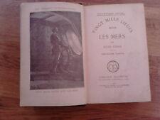 livre jules Verne vingt mille lieues sous les mers