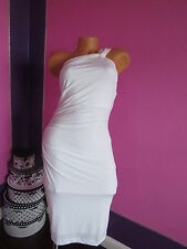 NEW!!  Victoria Secret!!! VERY SEXY WHITE High-Neck Dress SIZE:X-SMALL