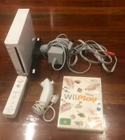 Nintendo Wii Sports Starter Pack Console Bundle: Genuine + Games, White