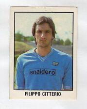 figurina CALCIO FLASH 1982 NUMERO 232 NAPOLI CITTERIO