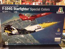 Kit maqueta F-104G Starfighter Special Colors 1 48 Italeri 2777