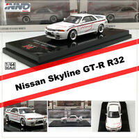 INNO 1:64 Scale Nissan Skyline GT-R R32 MINE'S Diecast Car Model Collection
