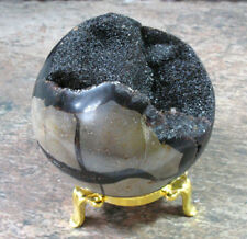 Septarian Dragon Stone Sphere with Stand - 2.8 inches - Item 79255
